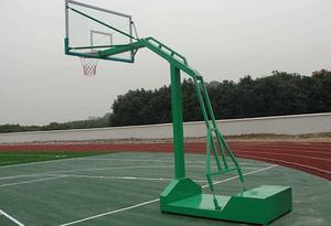 平箱式篮球架